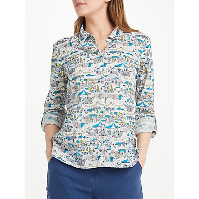 Seasalt Larissa Shirt, Summer Festival Ecru