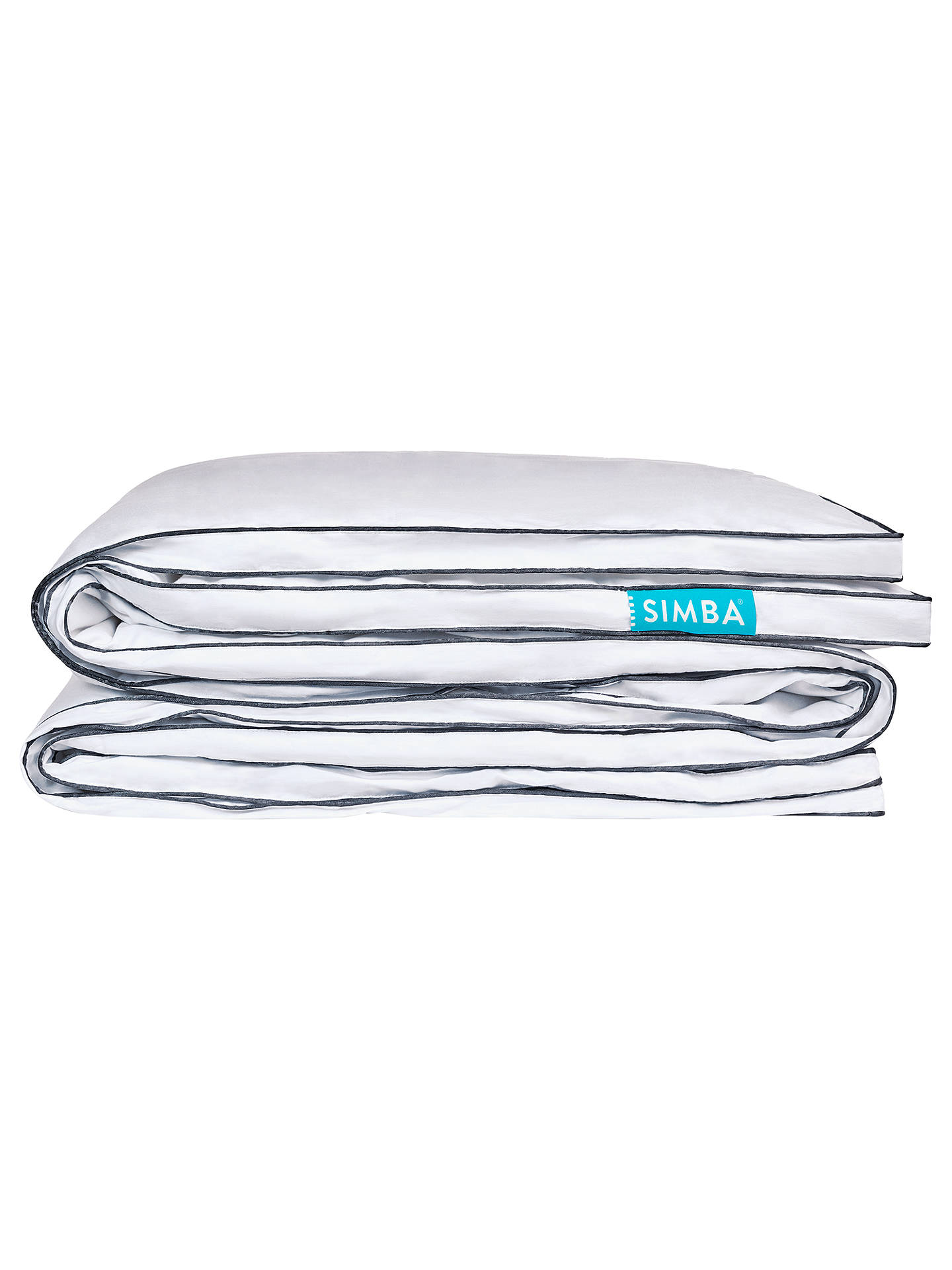 BuySIMBA Microfibre Duvet, 10.5 Tog, Single Online at johnlewis.com