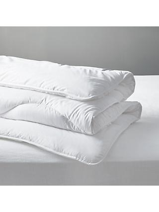 John Lewis & Partners Synthetic Soft Comfort 100% Recycled Duvet, 4.5 Tog
