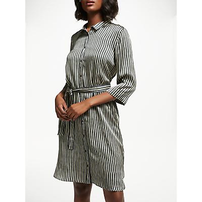 Swildens Saturne Stripe Dress, Faux Noir