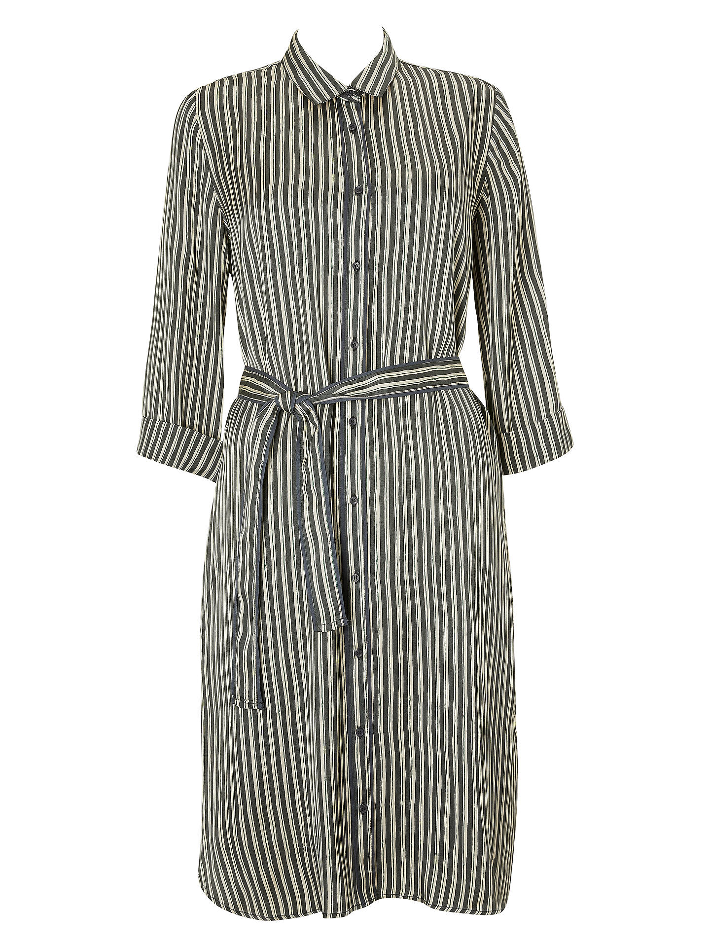 BuySwildens Saturne Stripe Dress, Faux Noir, 8 Online at johnlewis.com