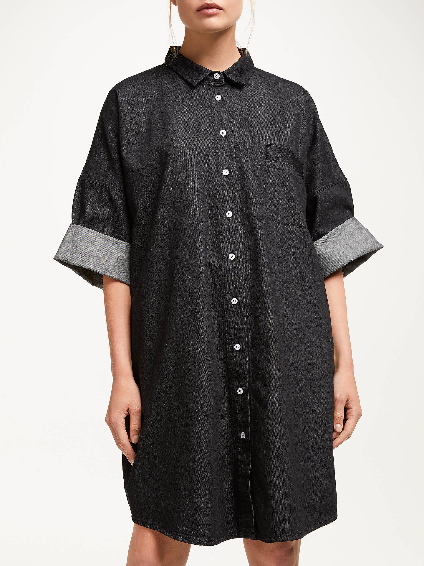 a4b7330339b Buy Kin Denim Oversized Utility Shirt Dress