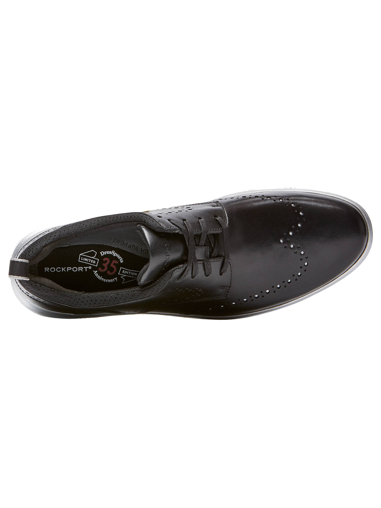 BuyRockport Dressport 2 Fast Marathon Brogues, Black, 9 Online at johnlewis.com