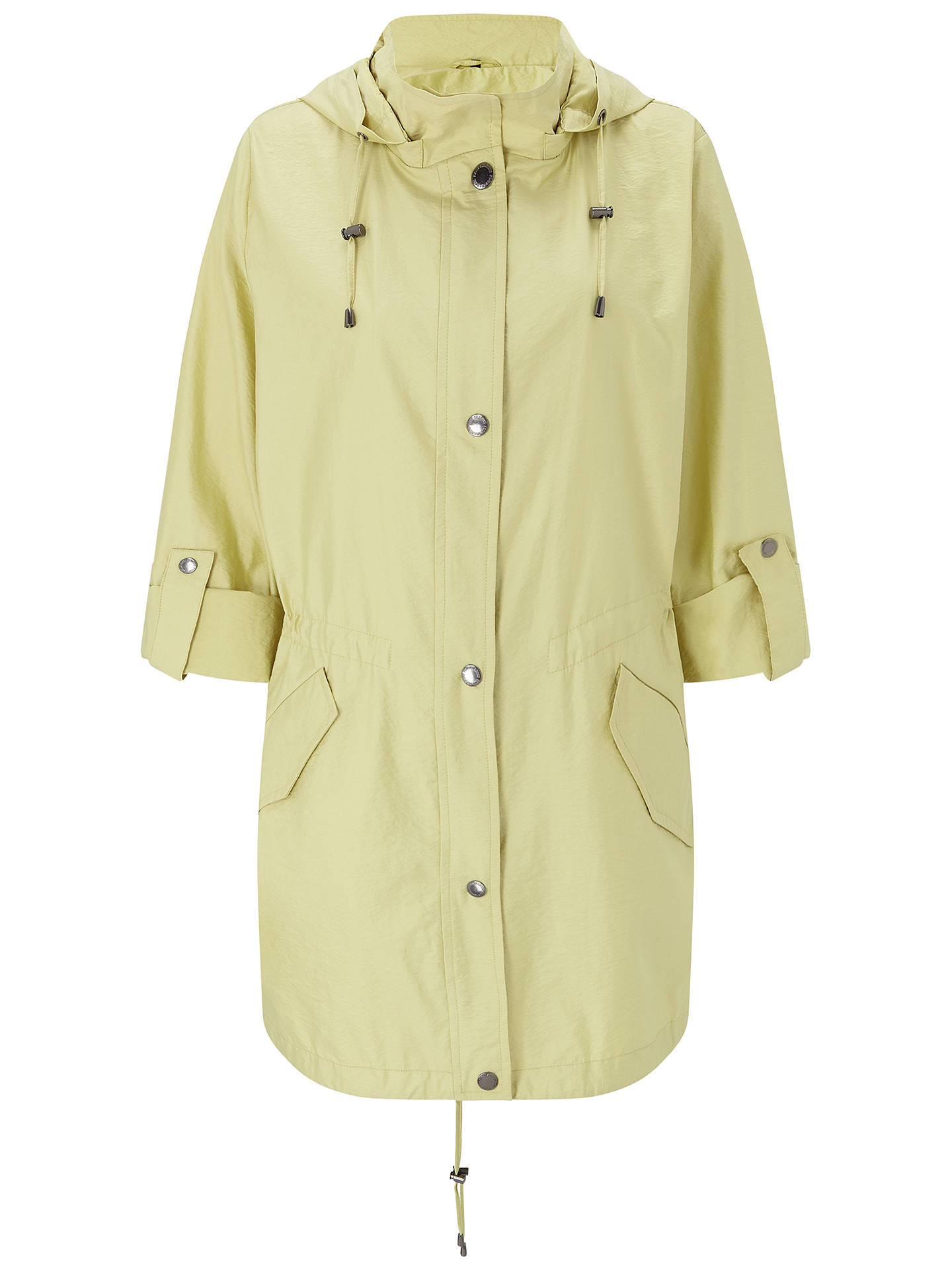 1bfe03f8b6f ... Buy Four Seasons Lightweight Hooded Parka Coat, Citrus, XS Online at  johnlewis.com ...