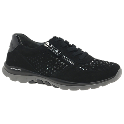 Gabor Fantastic Extra Wide Fit Lace Up Trainers