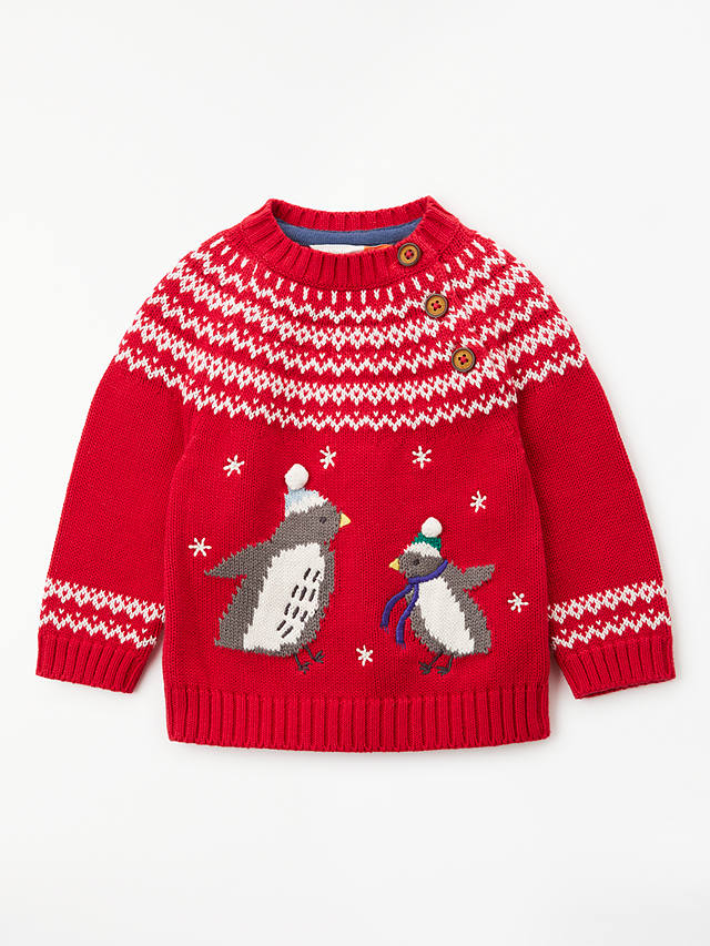 Navy 3-6 Mths Brand New John Lewis Baby Christmas Penguin Top and Dungarees