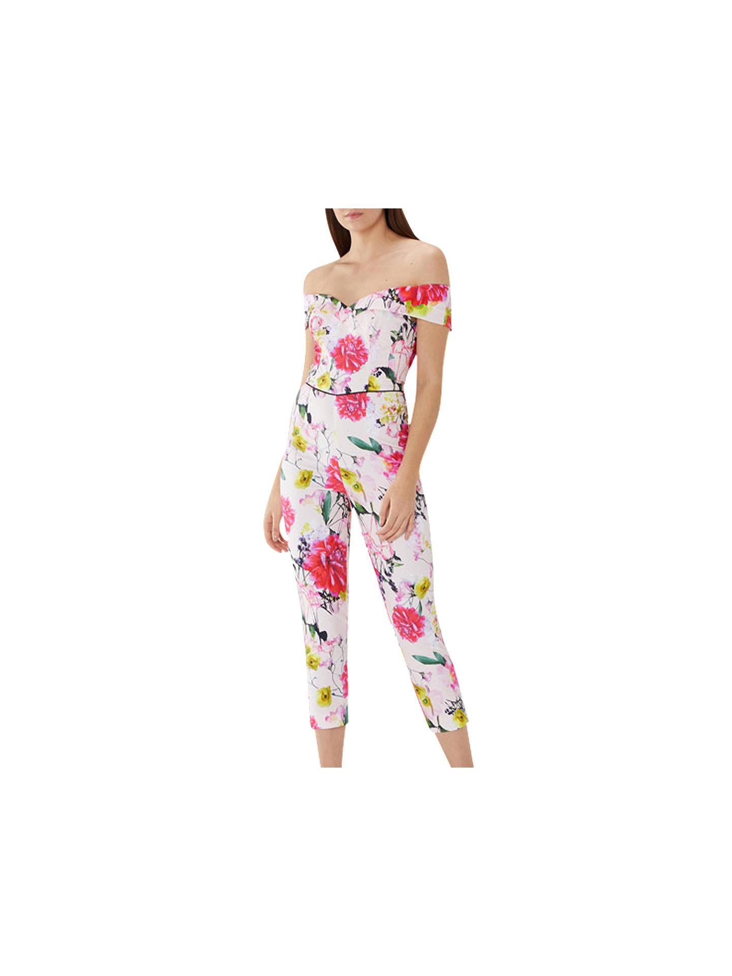 b3b5290c33 Coast Denise Floral Jumpsuit at John Lewis   Partners