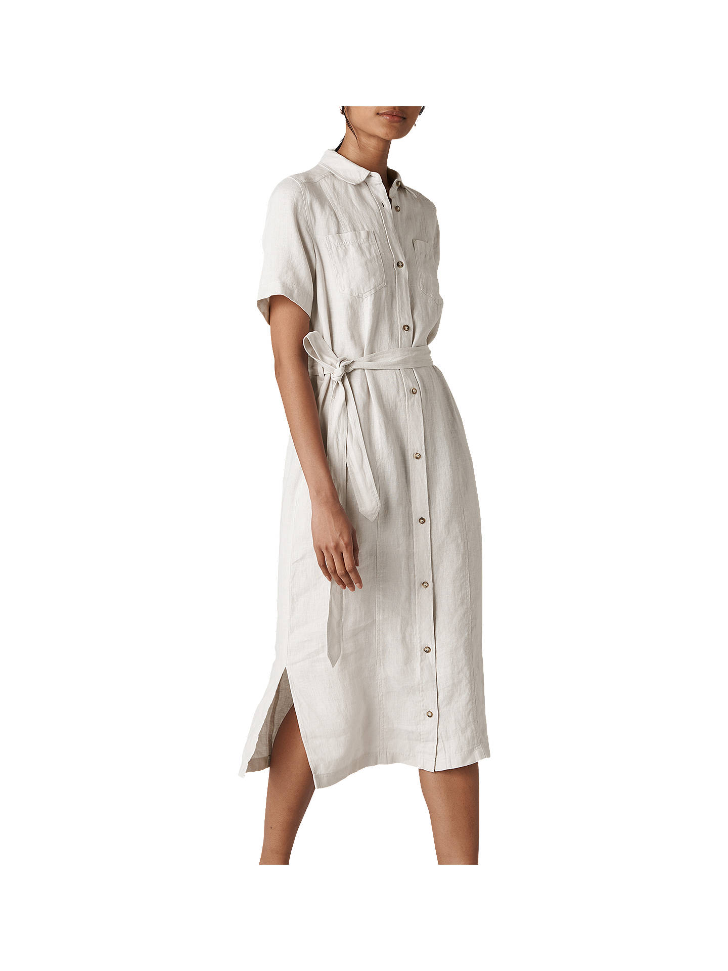 ed02e0e824e Buy Whistles Bella Linen Shirt Dress