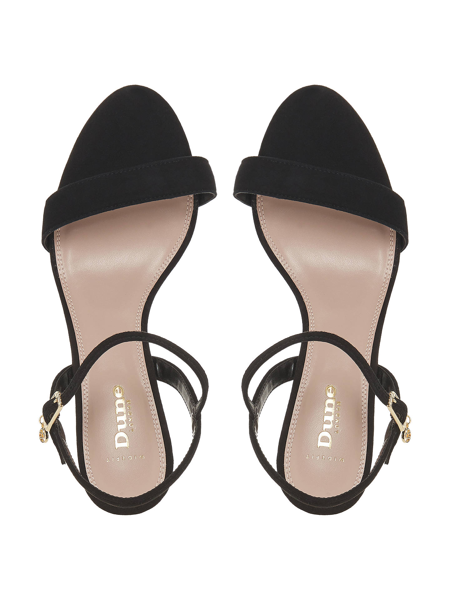 52a97cff2b4 ... Buy Dune Wide Fit Monnrow Two Part Kitten Heel Sandals