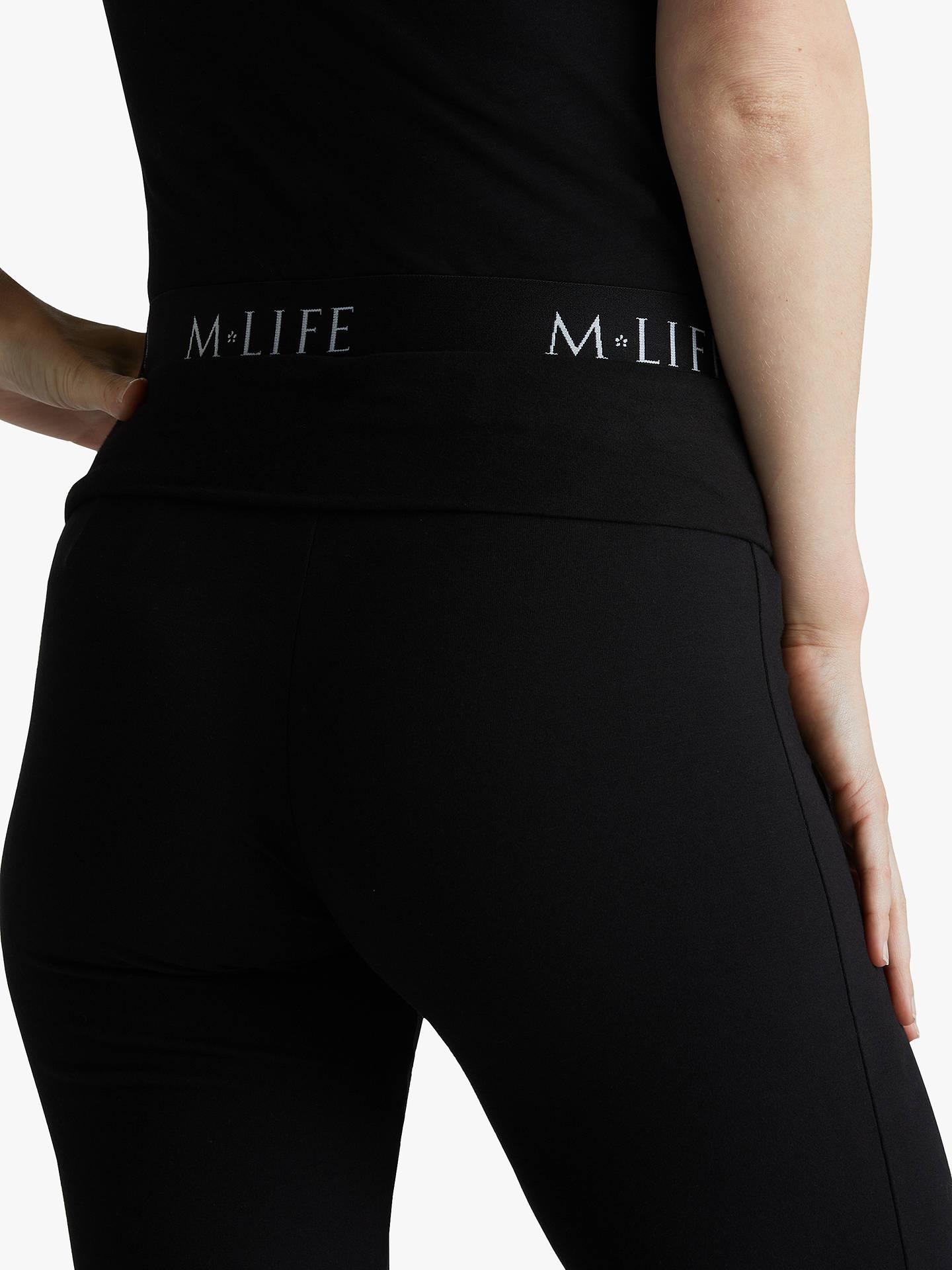 933c76e0c35 Buy M Life Divine Drawstring Yoga Pants, Flint Melange, XS Online at  johnlewis.