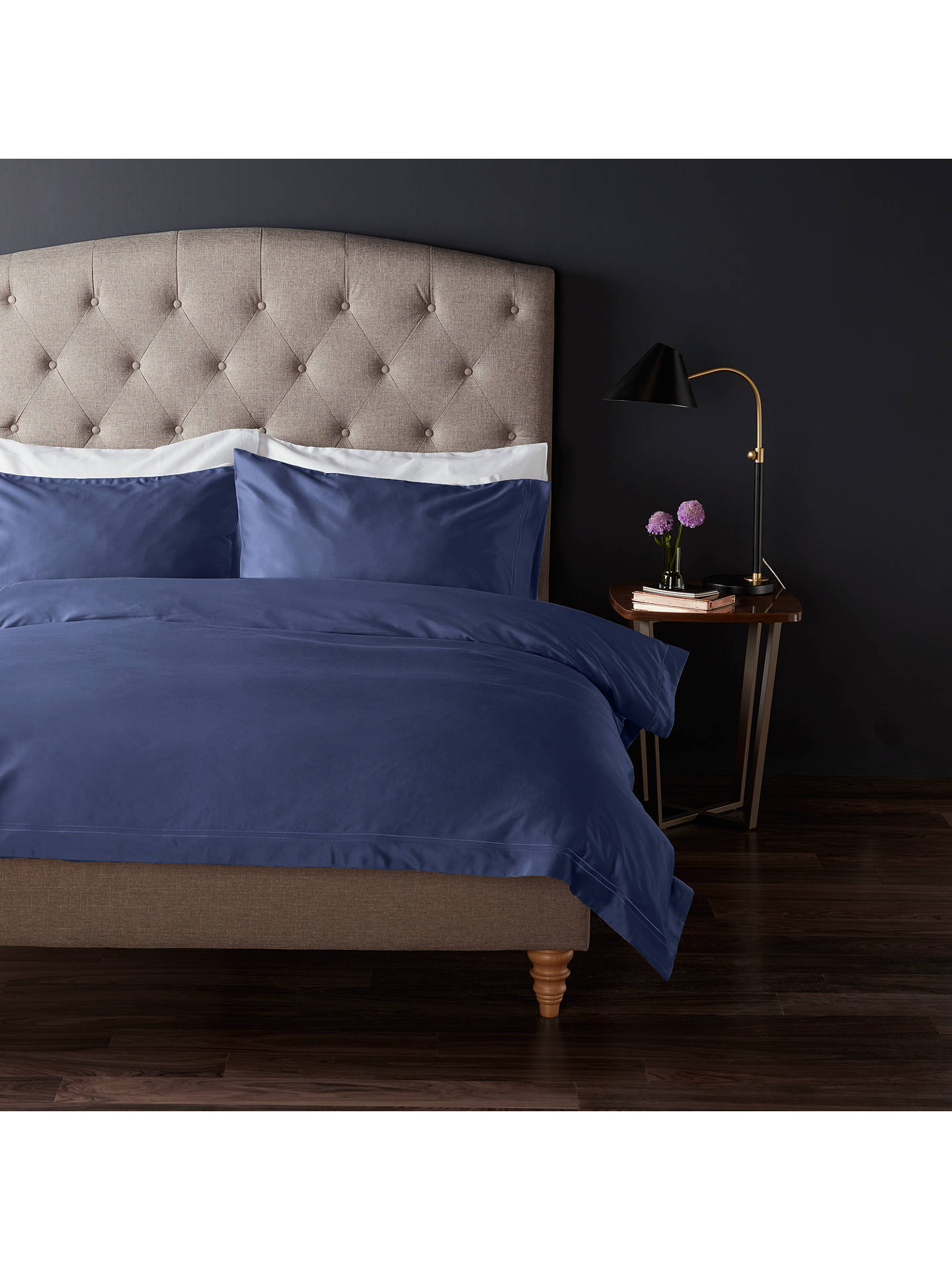 Buy John Lewis & Partners The Ultimate Collection 1000 Thread Count Egyptian Cotton Standard Pillowcase, Sapphire Online at johnlewis.com
