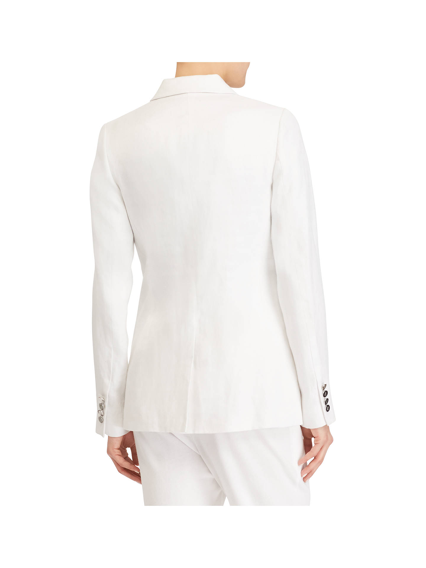 BuyPolo Ralph Lauren Vinnazzo Jacket, White, 6 Online at johnlewis.com