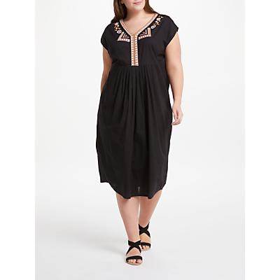 JUNAROSE Periaz Midi Dress, Black Beauty