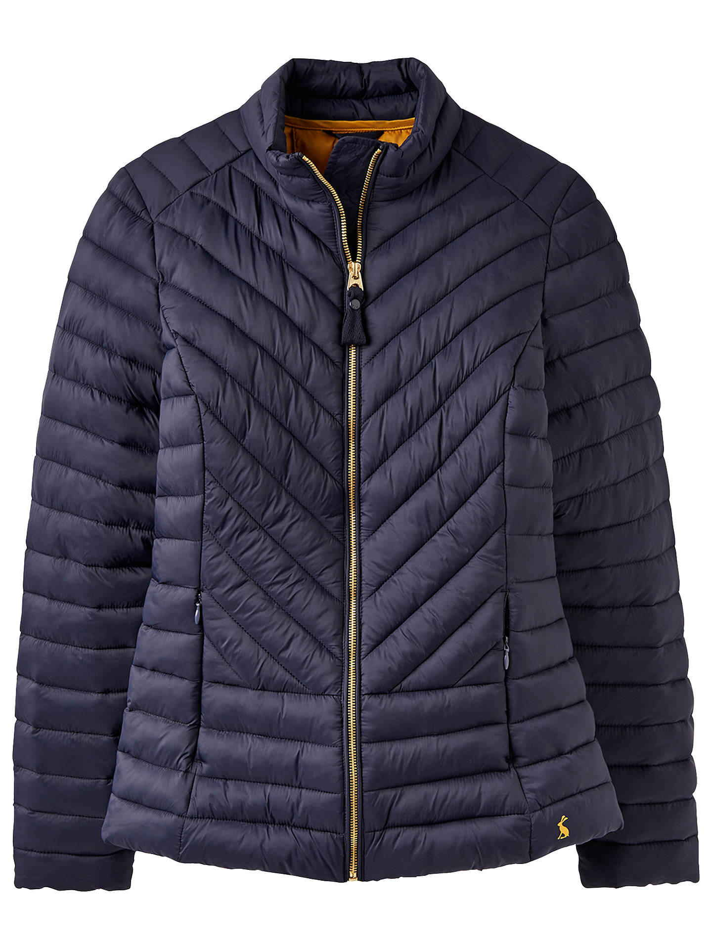2c6c7fc58 Joules Elodie Chevron Quilted Jacket at John Lewis & Partners