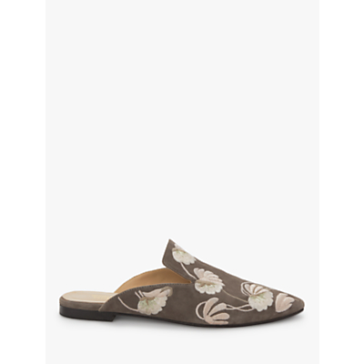 Modern Rarity Giorgia Backless Mules, Taupe