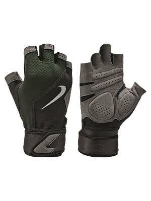 Buy Nike Premier Fit Training Gloves, Black/Volt/Black/White, M Online at johnlewis.com