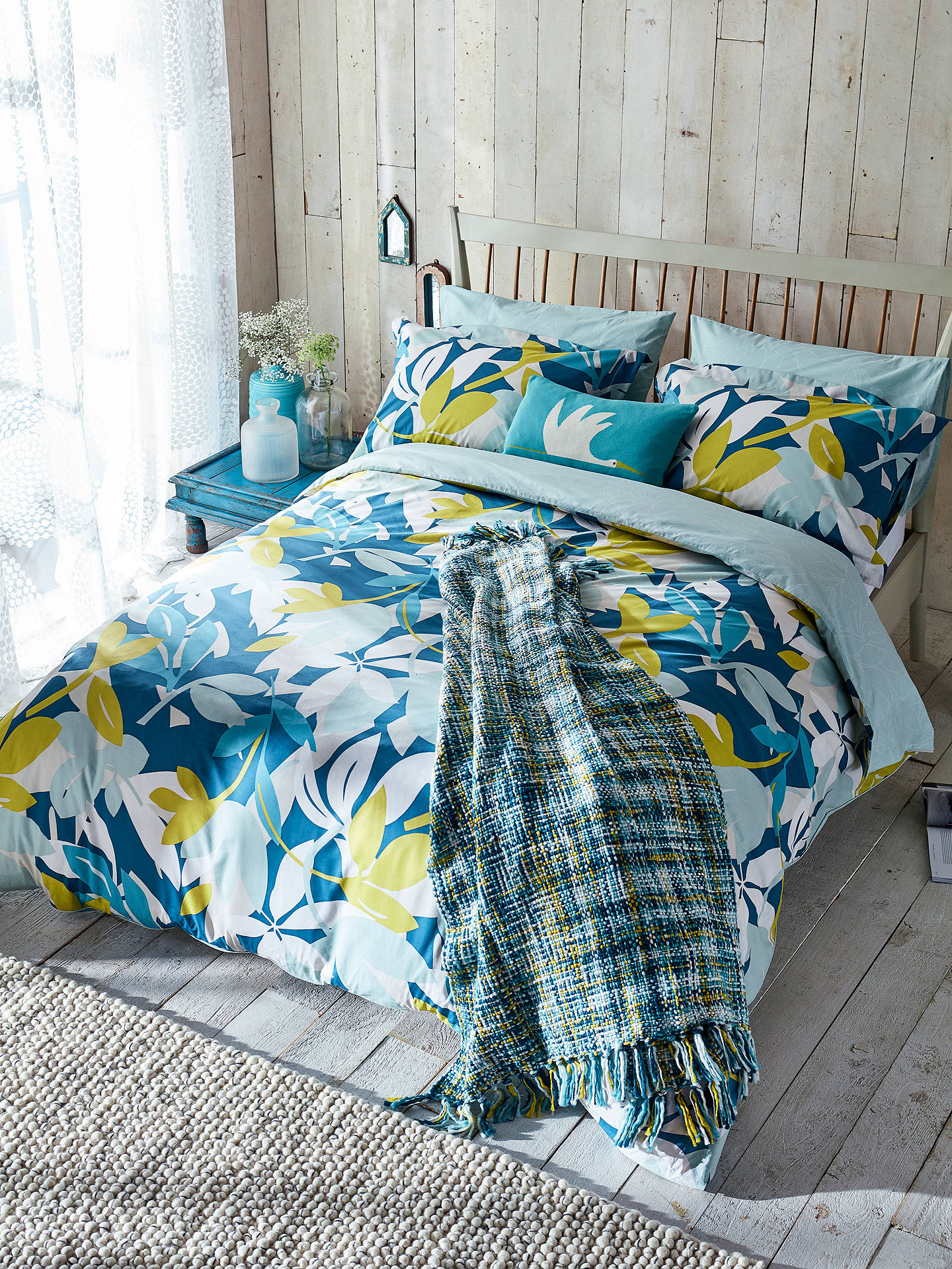 Buy Scion Baja Oxford Pillowcase, Multi Online at johnlewis.com
