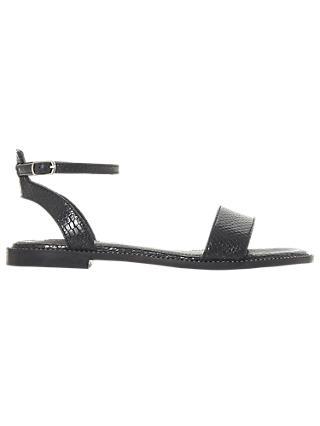 d38ddc95a43b Dune Nance Open Toe Flat Sandals