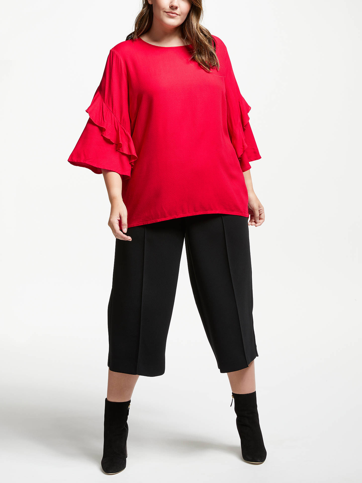 Junarose Womens Plus Size Lona Three Quarter Sleeve Blouse