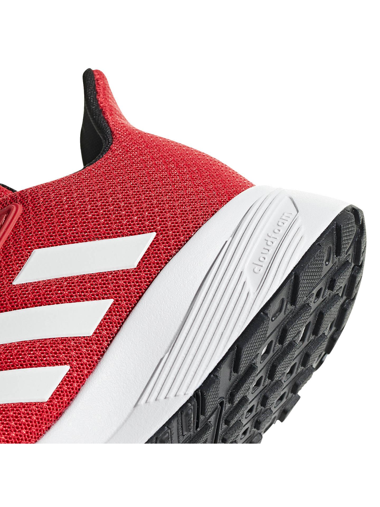 adidas Duramo 9 K. Junior Running. blackwhite