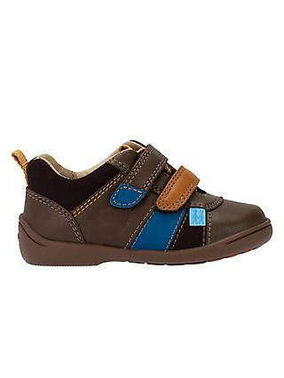 Start-Rite Children's Grip First Shoes, Brown