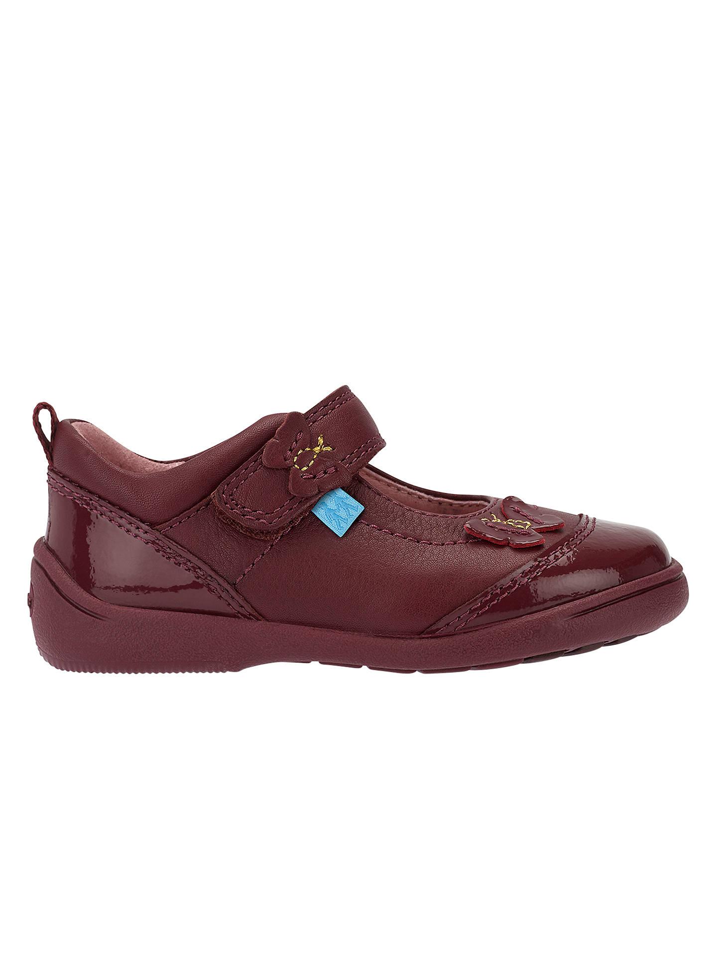 fc62d7003fd1b Buy Start-rite Children's Swing Butterfly Leather Pre-Walker Shoes, Wine,  4F ...