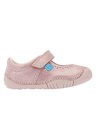 Start-Rite Children's Cruise First Shoes, Pink Metallic