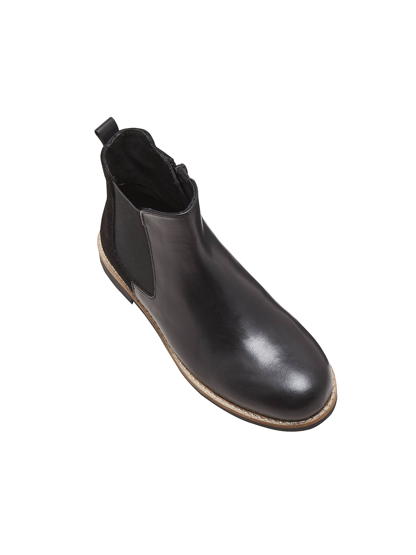 Buy John Lewis & Partners Children's Hannah Chelsea Boots, Black, 10 Jnr Online at johnlewis.com