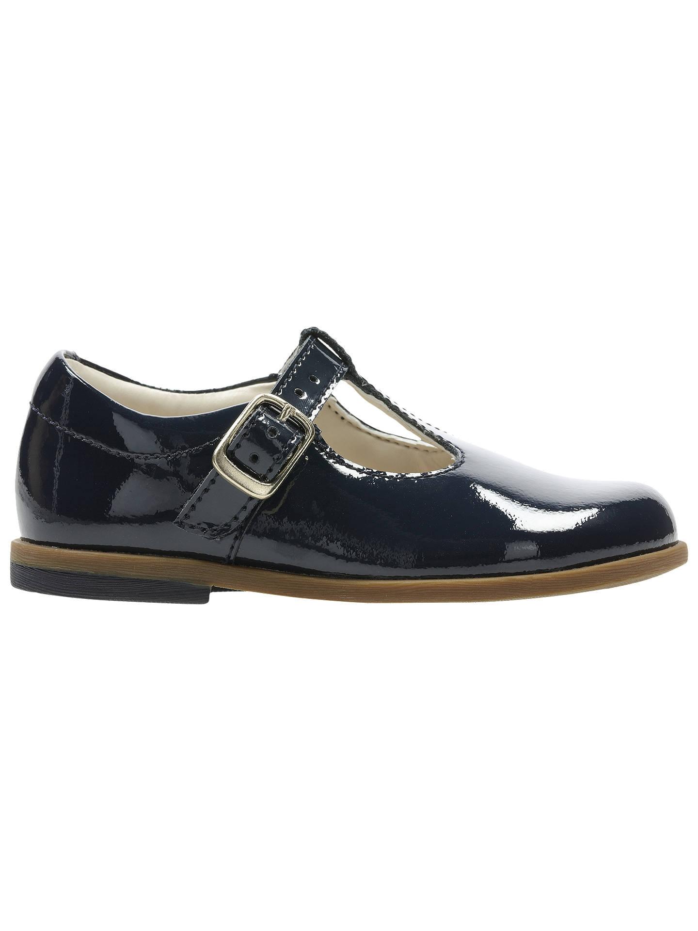 1ee4d20748f Buy Clarks Children's Drew Shine Shoes, Navy Patent, 4F Jnr Online at  johnlewis.