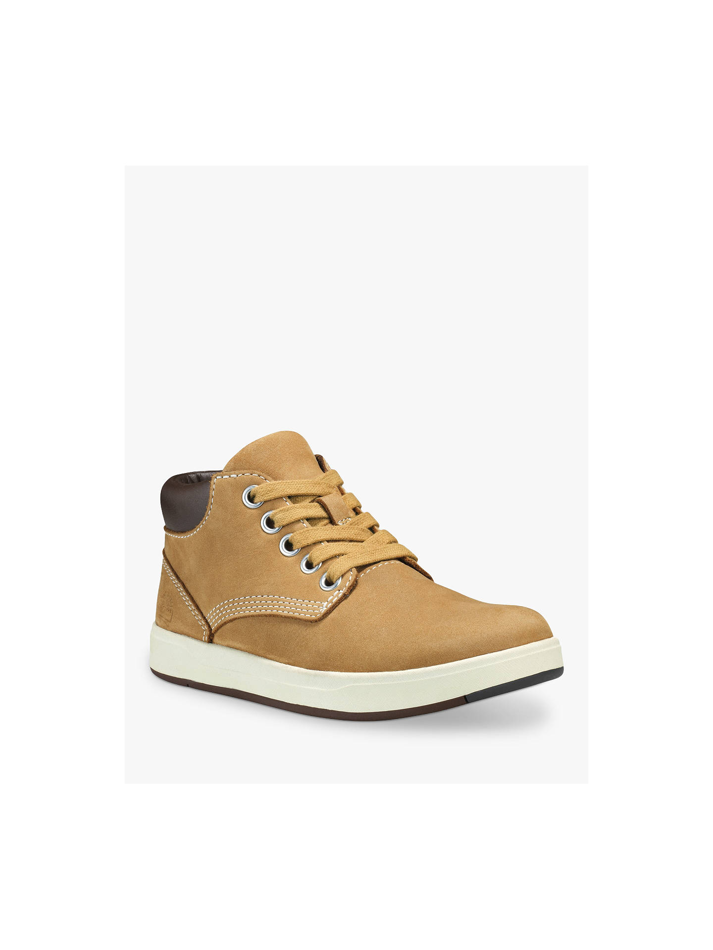 BuyTimberland Children's Davis Square Chukka Boots, Wheat, 12.5 Online at johnlewis.com