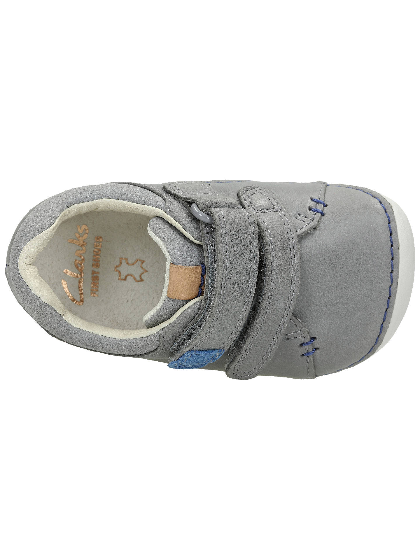Boys Clarks Casual First Shoes Tiny Toby