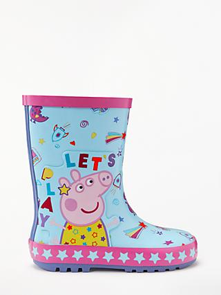 Peppa Pig Children's Let's Play Wellington Boots, Blue