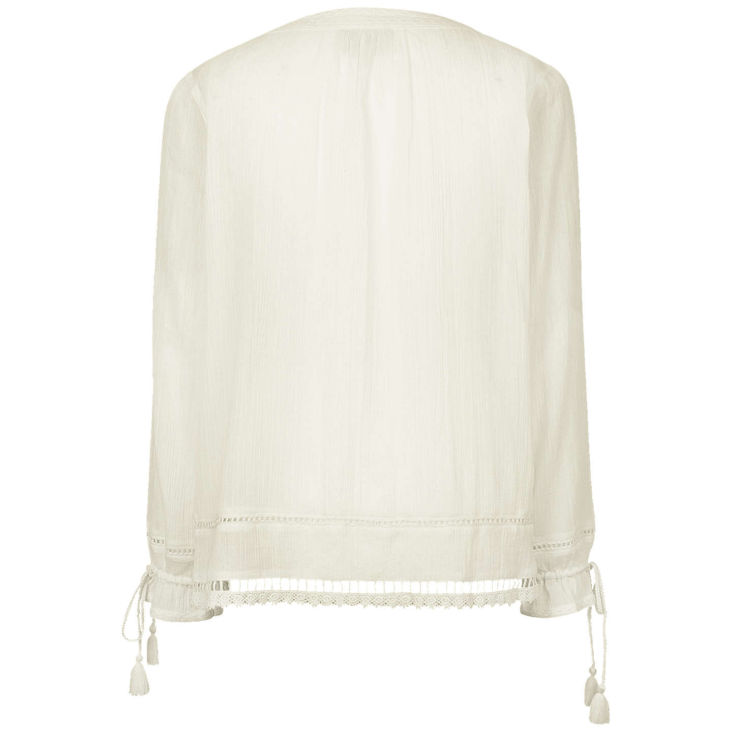Fat Face Whitby Blouse, Ivory