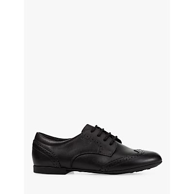 34a9d5c9e1 Geox Children's J Plie Brogue Shoes, Black   £50.00   Gay Times