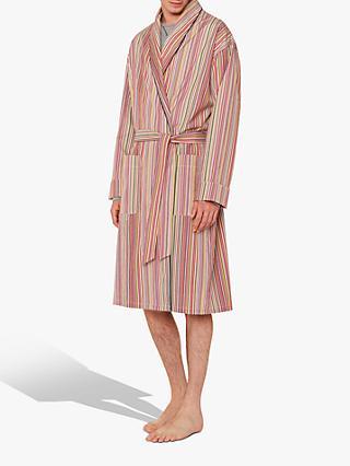 6d9e9972766e Paul Smith Signature Stripe Cotton Robe