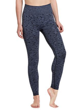 Pepper & Mayne Celeste Yoga Leggings, Blue Ink