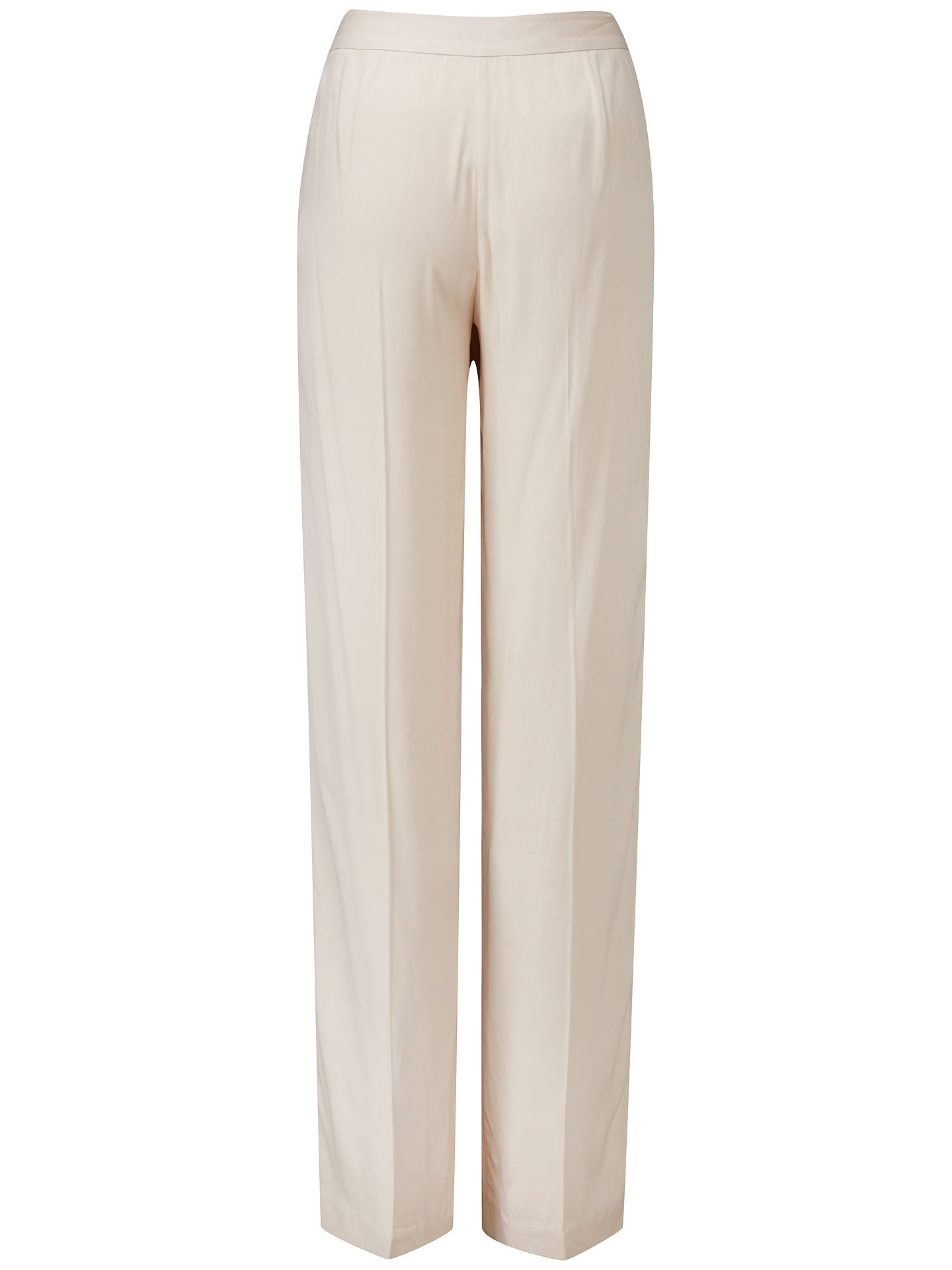 BuyPure Collection Fluid Wide Leg Trousers, Neutral, 8 Online at johnlewis.com