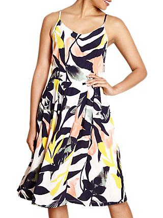 Yumi Tropical Print Dress, Multi