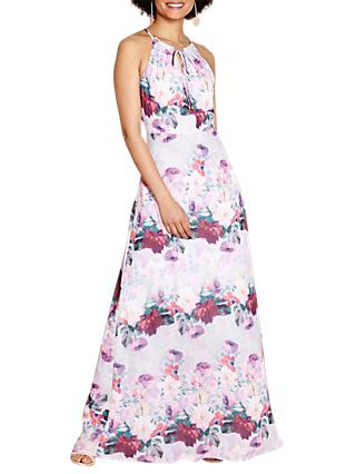 Yumi Floral Watercolour Dress, Multi