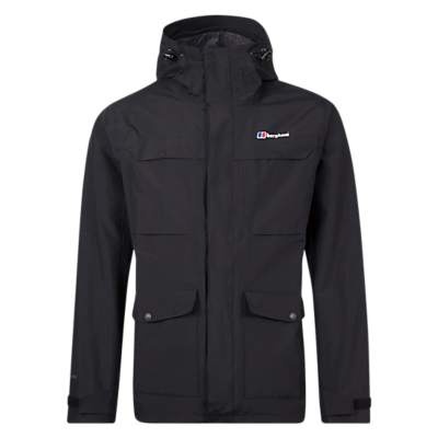 Image of Berghaus Otago Men's Waterproof Jacket, Black