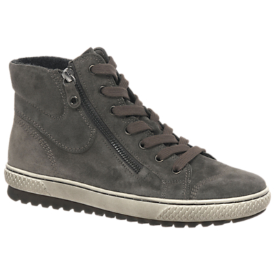 Gabor Bulner Wide High Top Lace Up Trainers