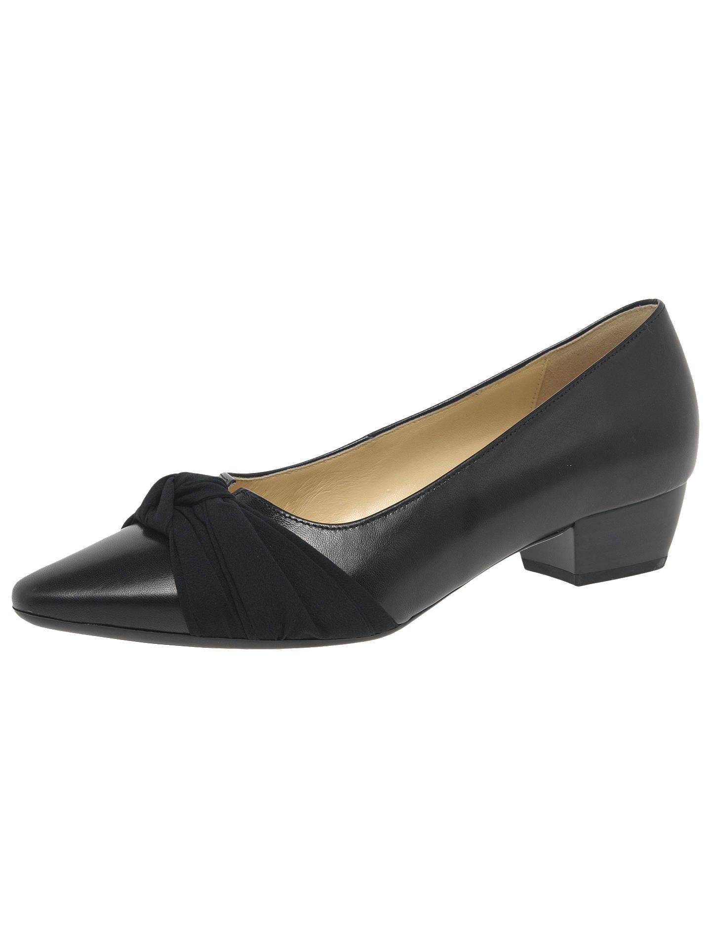Gabor Fifi Womens Bow Dress Court Shoes
