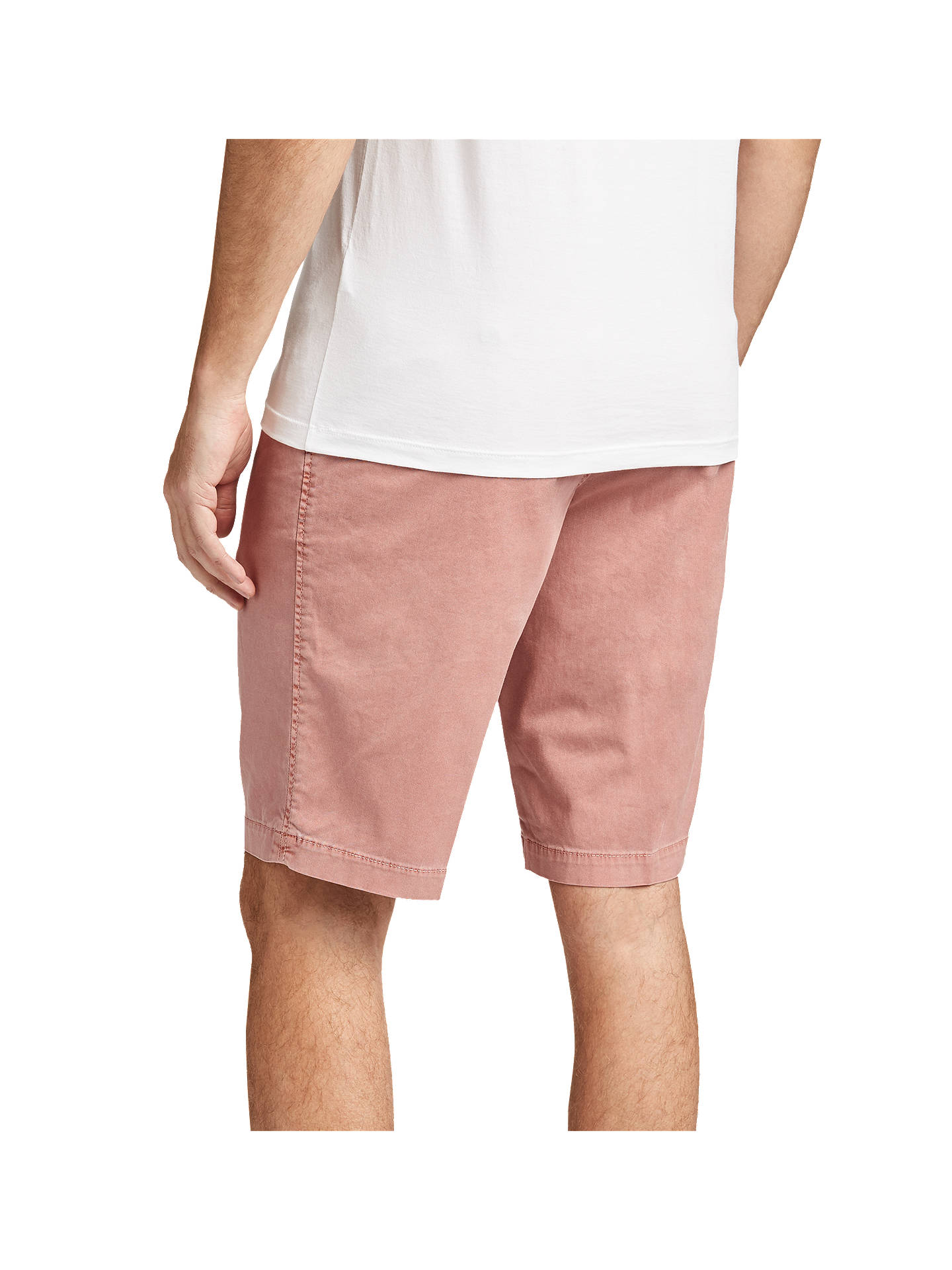 BuyBOSS Crigan Regular Fit Chino Shorts, Open Red, 30R Online at johnlewis.com