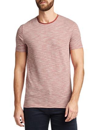 1edcfad6 BOSS Tiburt Short Sleeve T-Shirt, Open Red