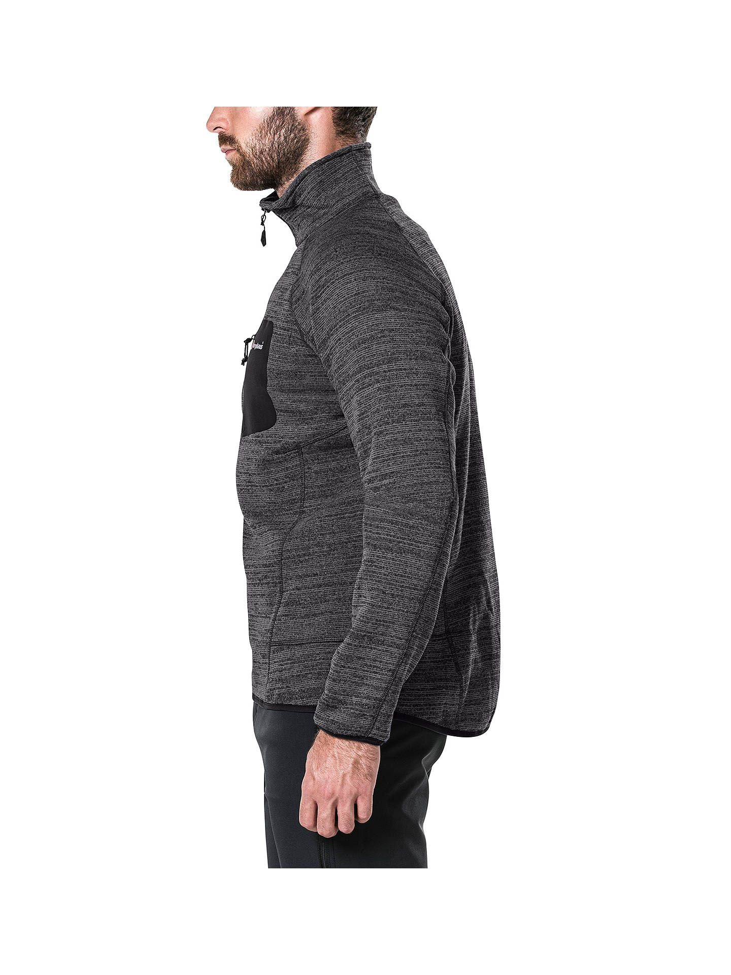 BuyBerghaus Tulach 2.0 Men's Fleece, Black, S Online at johnlewis.com