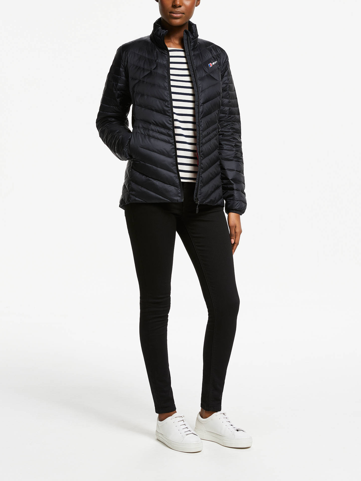 BuyBerghaus Tephra Reflect Women's Jacket, Black, 8 Online at johnlewis.com