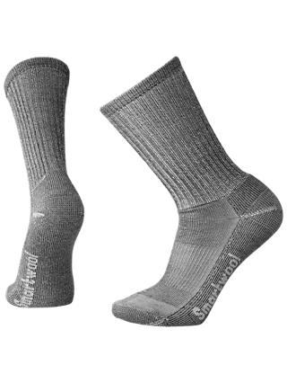 SmartWool Hike Light Crew Socks, Grey