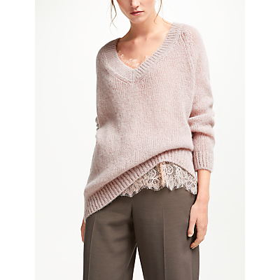 Modern Rarity Chunky V-Neck Jumper