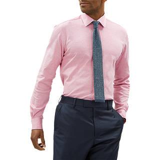 Jaeger Melange Pique Jersey Shirt, Pink