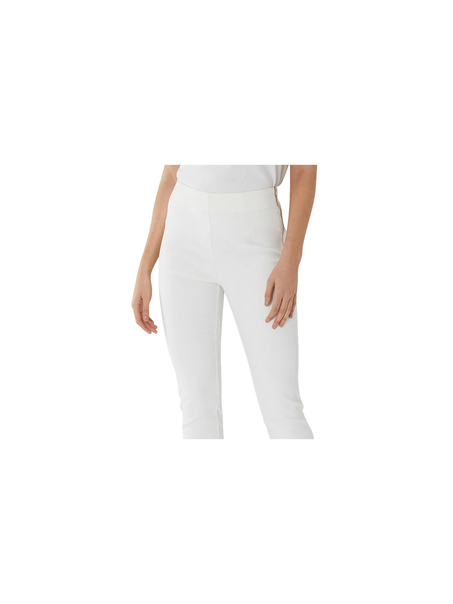 BuyCoast Alexa Trousers, Ivory, 6 Online at johnlewis.com